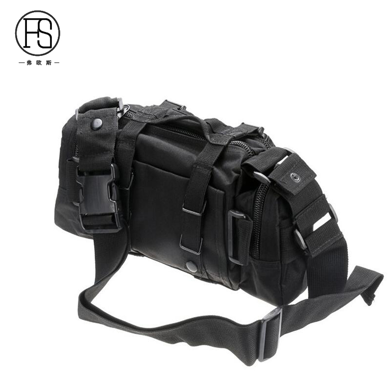 Waterproof Outdoor Sport Hiking Camping Equipment Shoulder Bag Camouflage Tactical Waist Bag Cycling Fishing Bags