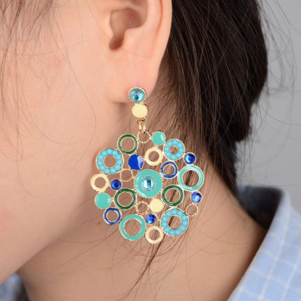 Bohemia Style Earring Lady Holiday Women 2017 New Arrival Nice Freeshipping