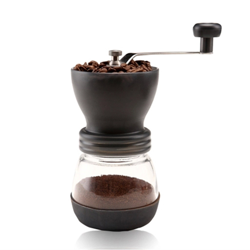 Hand Manual Coffee Maker Coffee Grinders With Ceramics Blades Stainless Steel Nuts Moedor de Cafe Coffee Machine For Home kitche 2l spanish manual stainless steel churro maker machine