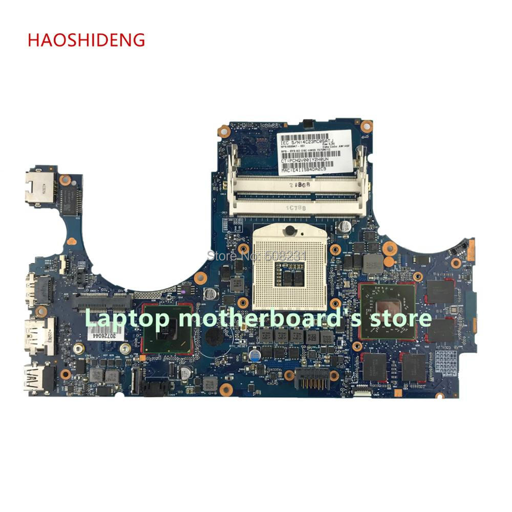 HAOSHIDENG 668847-001 6050A2459001 MB-A02 for HP ENVY 15 15-3000T laptop motherboard with HM65 7670M All functions fully Tested free shipping 765736 501 for hp envy 15 q 15t q motherboard with sr1pz i7 4712hq gtx 850m 4gb all functions 100