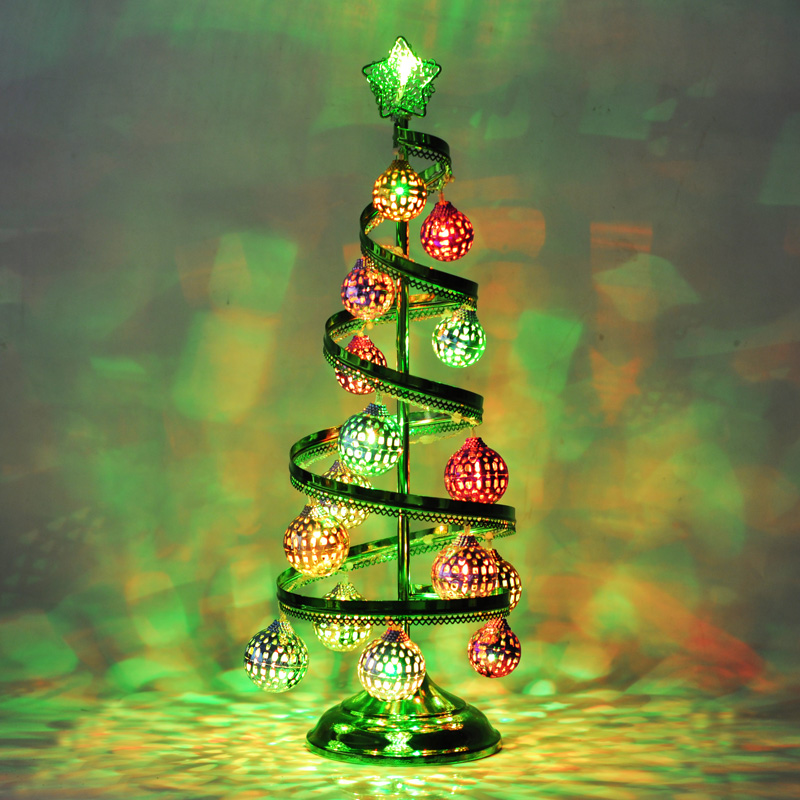 online shop christmas decorations christmas ball wrought iron spiral high grade led christmas tree ornaments christmas arrangement aliexpress mobile - Iron Christmas Tree