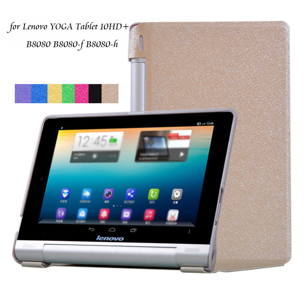 Case for Lenovo YOGA Tablet 10HD+ B8080F B8080H PU Leather Cover Funda for Lenovo B8080 B8080F/H 10.1'' Tablet Case+Stylus Pen for lenovo miix 520 case print pattern pu leather folding stand cover for lenovo miix520 12 2inch tablet case touch pen