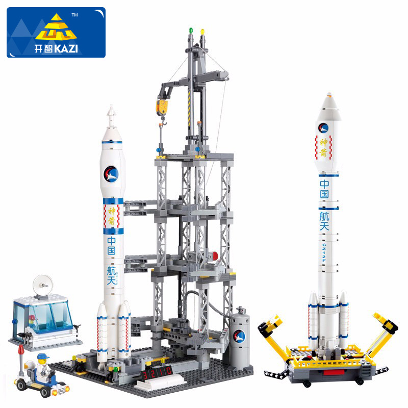 Aviation Model Building BLocks Air Weapons Satellite Rokets Building Blocks Compatible Major Brand DIY Blocks Toys For Children new building block simulation china yuejin train building blocks compatible major brand blocks educational toys for children