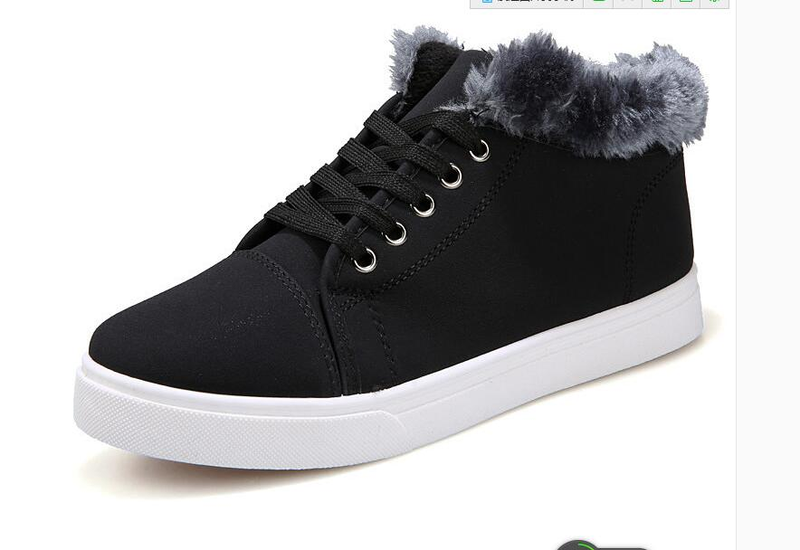 Sales Quality Men Boot Brand font b women b font men snow boots comfortable black winter