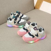 Kids glowing sneakers
