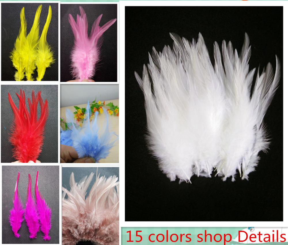 White craft feathers bulk - Free Shipping Sale 20 Pc 4 6inches 10 15cm Beautiful White