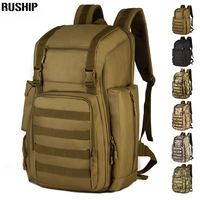40L Men Women Molle System Backpack Nylon 1000D Trek Hunting Military Tactical Backpack Assault Travel Bag