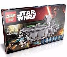 Lepin Star Wars 05003 Marvel model minifigures First Order Transporter Building Blocks Bricks Starwars Toys