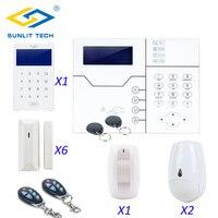 Фокус ST VGT беспроводной TCP IP GSM сигнализация системы комплект дистанционное управление 433 мГц Главная Smart охранной безопасности Pet иммунн