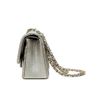 Image 4 - Brand  Female 2020 New Handbags Chevrons Fashion Chain Shoulder Bag Messenger Bag Cover Small Square Package luis vuiton gg bag