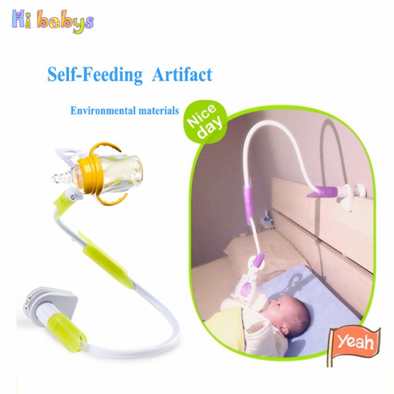 Free Hand Baby Bottle Holder Feeder Bottles Rack Baby Feeding Holder Drink Water Nursing bottle Holder Support Clip 85cm 95cm baby stroller bottle holder plastic baby stroller bicycle water bottles cup holder accessories quick release water bottle rack