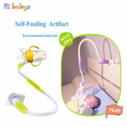 Free Hand Baby Bottle Holder Feeder Bottles Rack Baby Feeding Holder Drink Water Nursing bottle Holder Support Clip 85cm 95cm