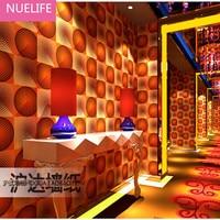 0.53x10 m KTV Wallpapers 3d Mode Bar Fancy Ballroom Doos Thema Kamer Entertainment Flash Achtergrond Behang