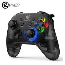 GameSir T4 2.4 GHz (odbiornik USB) bezprzewodowy kontroler do gier USB przewodowy Gamepad do Windows (7/8/9/10) PC