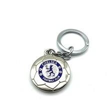 Chelsea Football Club Soccer Team Logo 3D Metal Pendant Keychain Keyring Crest