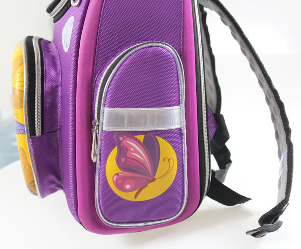 8e64e2e0ae 2014 new Children s Orthopedic girls purple Purple Butterfly bag school bags    kids backpack 2588-in School Bags from Luggage   Bags on Aliexpress.com  ...