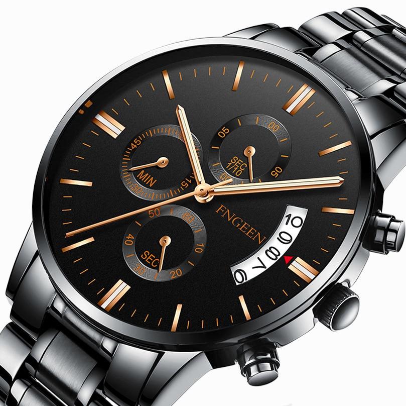 Véritable Fngeen hommes étudiant sport montre à Quartz étanche lumineux montre pour hommes montre-bracelet