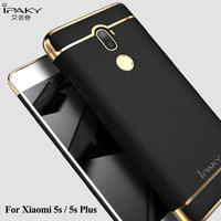 New Original IPAKY Full Protection Mi5 Case 3in1 Plating Matte Back Cover Coque Housing For Xiaomi