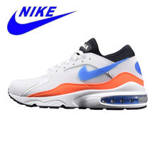 8222e7d9ae New Arrival Original Nike Air Max 93 Men's Running Shoes, Shock Absorption  Breathable Lightweight Non