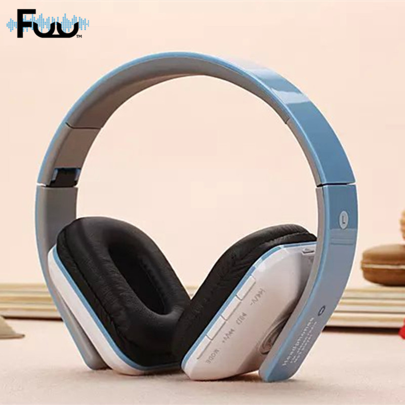 Hot Sell JKR 202B Wireless Stereo Bluetooth 3.0 + EDR Headband Earphone Headset with Mic MP3 FM Radio for Smart Phones Tablet PC bq 618 wireless bluetooth v4 1 edr headset support handsfree earphone with intelligent voice navigation for cellphones tablet
