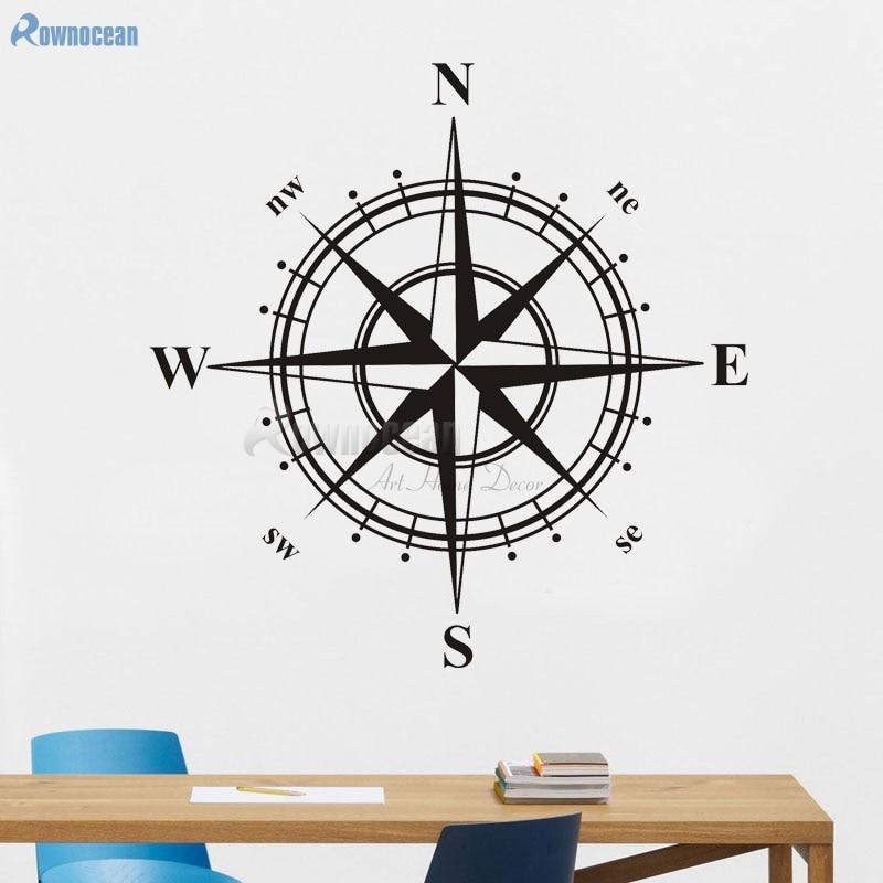 Yeni il 2017 dənizkənarı ev dekorasiya kompas sənət otaqları - Ev dekoru - Fotoqrafiya 3