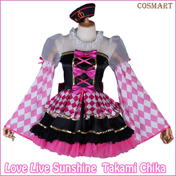 [Customize]Anime Love Live!Sunshine!Kurosawa Ruby CYaRon Happy End Aqours Awakening Uniform lovelive Cosplay Costumes freeship