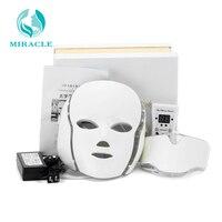 Home Use LED gene biology light Skin Colored Facial Led Mask EMS Micro current Wrinkle Acne Removal Skin Rejuvenation