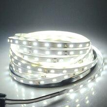 DC12V led luz de tira 5630 5730SMD 5 M 60led/M flexível Fita Fita corda fita de Led Barra de luz Neon interior decoartion Quente/Branco()