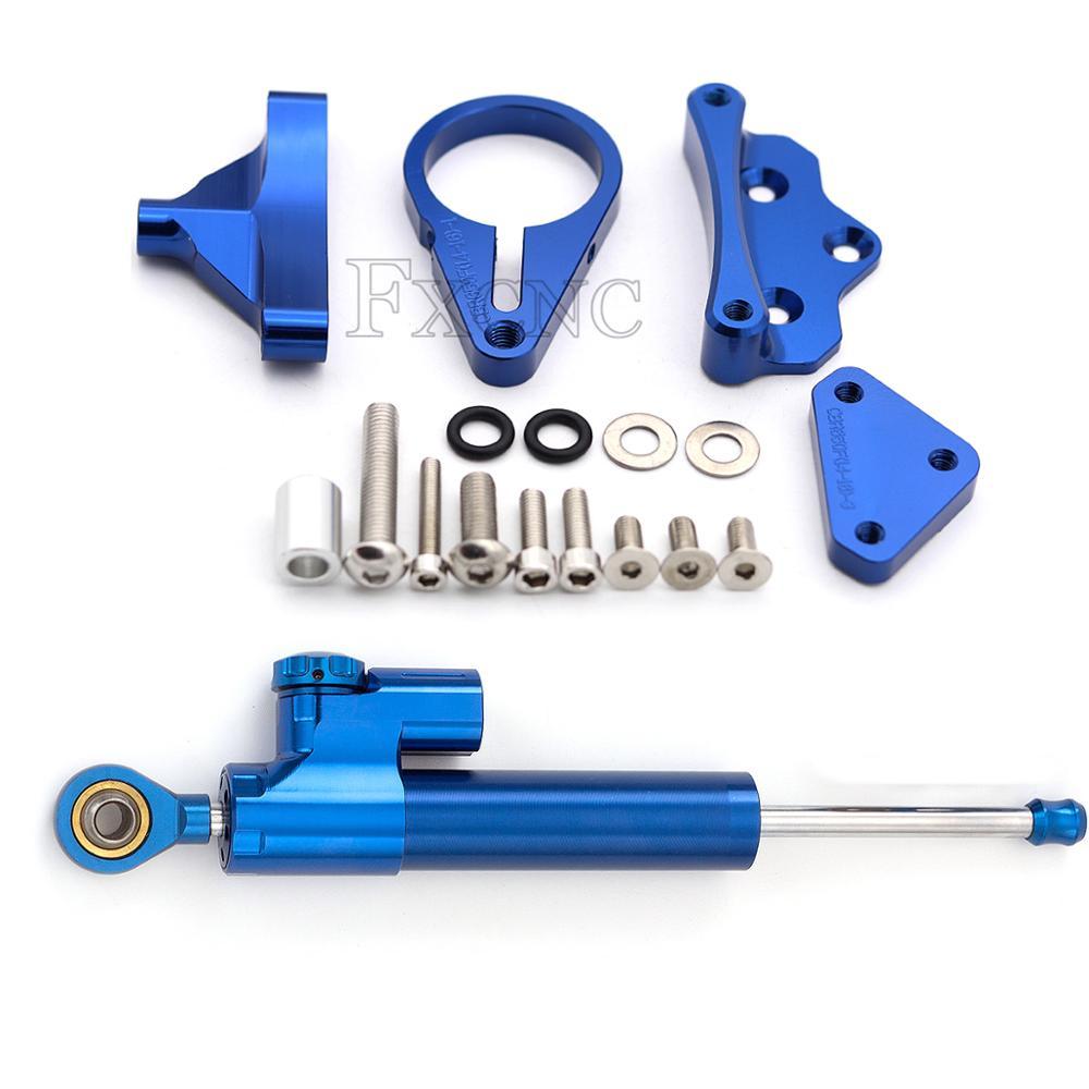 Kit de montage d'amortisseur de direction de stabilisateur de moto Support de contrôle de sécurité pour HONDA CBR650F CBR 650 F 2014-2018 2015