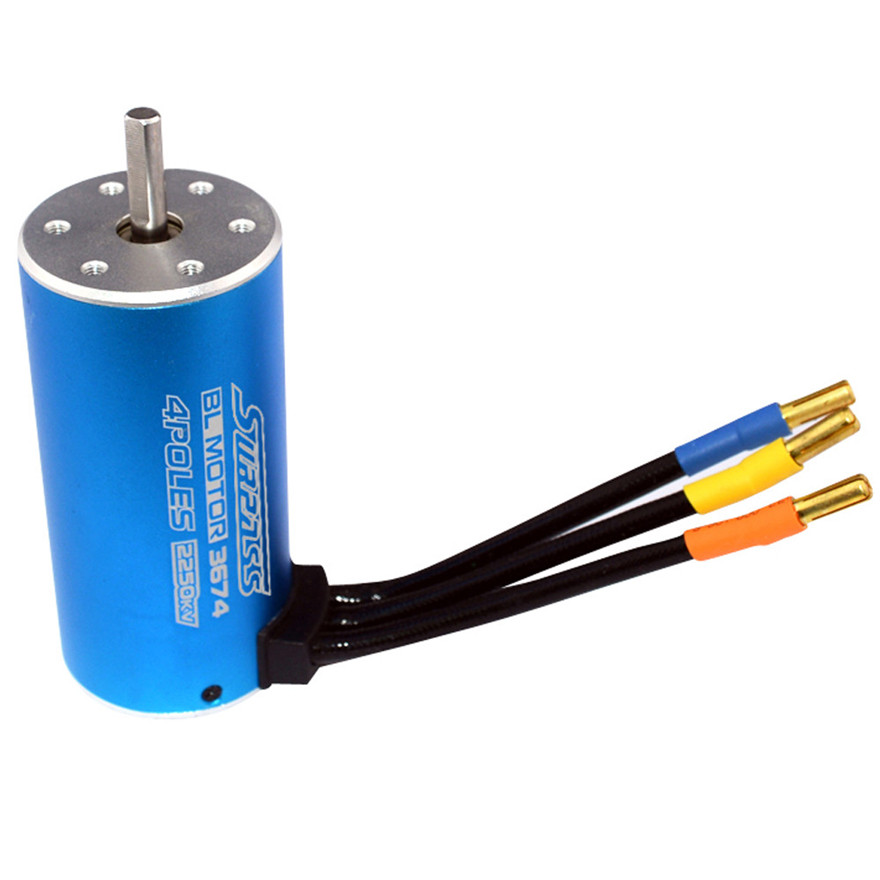 High Quality Motor Classic Brushless Sensorless BL 3674 2250KV 2Y 5.0mm RC 1/8 Himoto Toys Wholesale Free Shipping цены