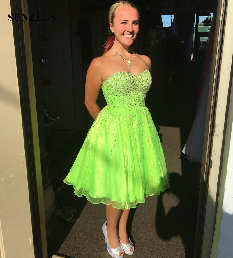 Popular Short Lime Green Dresses-Buy Cheap Short Lime Green ...