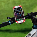 Bike Bicycle Motorcycle Handlebar Mount Holder Universal Phone Holder With Silicone Band For iPhone Samsung VIA28 P18 0.4
