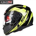 Ff320 Full Face Urban racing casco de la motocicleta LS2 Motocross Capacete moto Casco de doble lente, airbag, Equipo de protección de la moda