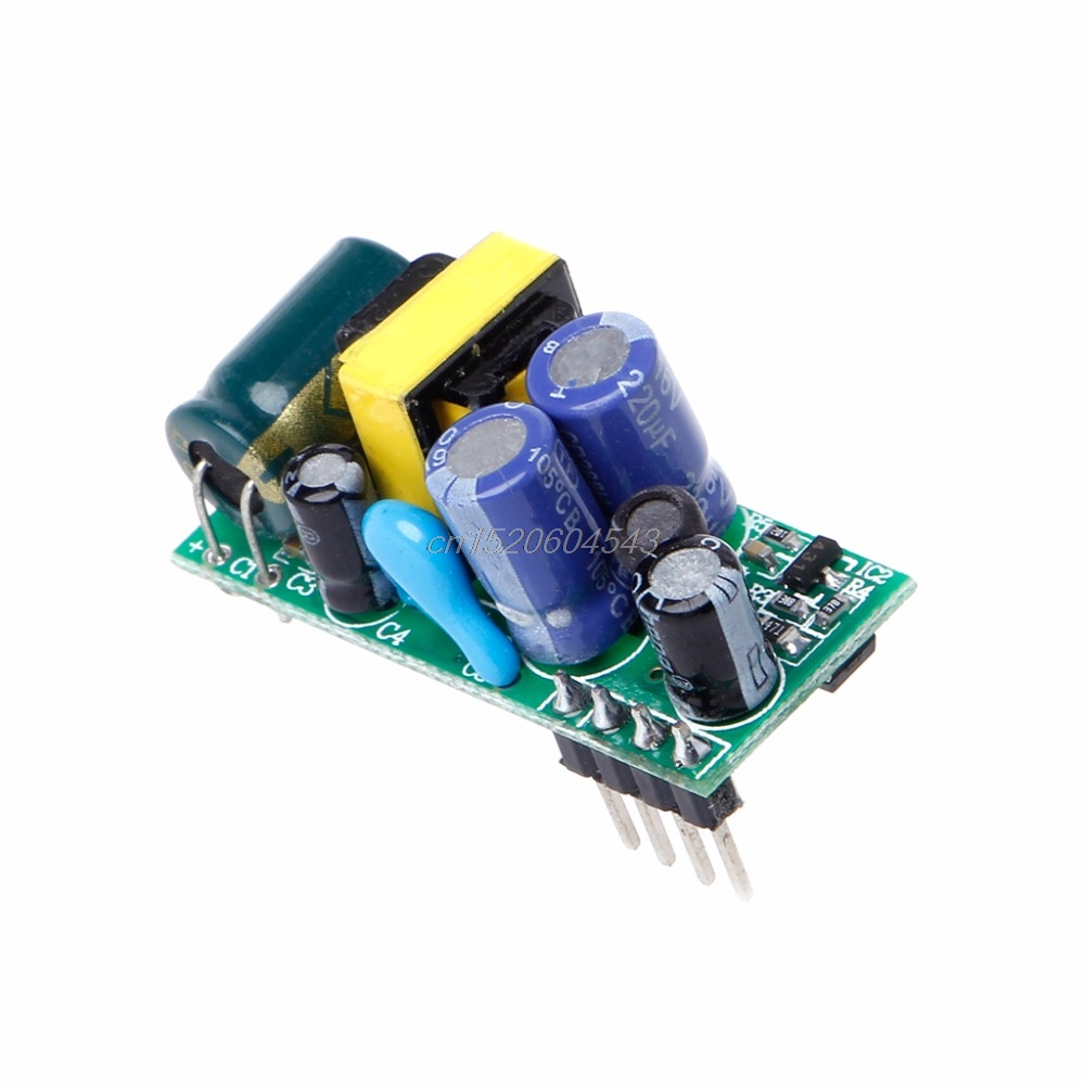 AC 220V to 5V to 3.3V Isolated Switching Power Supply Module 500mA 2.5W AC-DC R06 Drop Ship hzdz switching power supply module green 9v 500ma