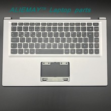 Laptop parts for LENOVO YOGA 2 13 Yoga2-13  SILVER Palmrest  with Backlit TURKY Keyboard 90205154 цена и фото