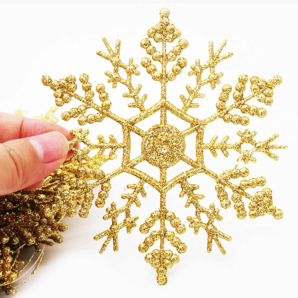 Detail Feedback Questions About Removable Merry Christmas Snowflake Home Fuse Box Decorated 12pcs Plastic Artificial Tree Sequin Snow Pendants Ornaments New Year Xmas Party Decoration