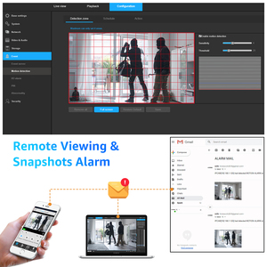 Image 5 - H. Görünüm 5MP IP kamera Wifi açık 2.4G 5G IP kameralar Wifi Onvif tam zamanlı renkli güvenlik kamerası açık H.265 kapalı devre kameralar 1080P