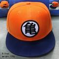2016 3 стиль Высокое качество Dragon ball Z Гоку шляпа Snapback Плоским хип-Хоп шапки Повседневная бейсболке Мужчины женщины дети ПОДАРОК на день рождения