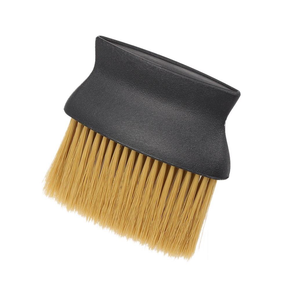 Soft Neck Brush Hairdresser Face Duster Dispencer Brushes Hair Brush Professional Salon Plastic Handle Cosmetic Tool Hot Selling