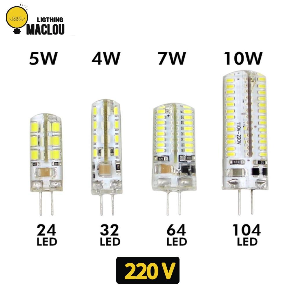 Ampoule Led G4 12v 10w.10pcs G4 Led Ac Dc 12v 220v 3w Lampada Led Lamp Light G4 Bulb Ampoule Led G4 Spotlight Halogen Lamp For Home Decoration Lighting