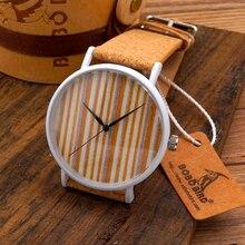 2015 Горячий Продавать женские мужские Часы Мода Из Нержавеющей Стали Кварцевые Часы Натуральной Пробки Группа Марка reloj в Gif Boxt