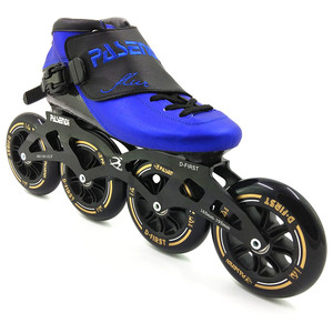 Image 2 - PASENDI חום moldable inline מהירות סקייט 4 גלגל 110mm 100mm תרמופלסטיים רולר inline איש נשים מקצועי rolki סקייט