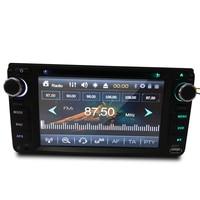 Двойной DIN сенсорный экран Bluetooth автомобиля стерео радио универсальный автомобильный DVD для Toyota