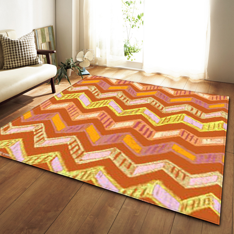 Us 36 83 Modern Simple Geometric Lines Wave Carpets And Rugs For The Living Room Area Rug Lounge Carpet Children S Mat Bedroom Cover In