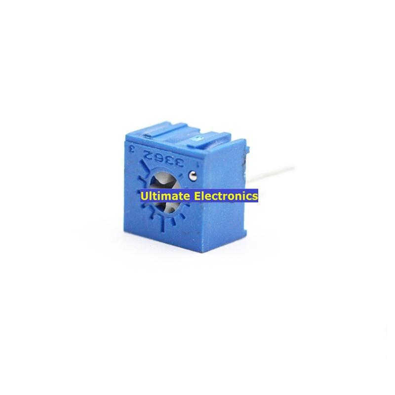 10PCS 3362P Precision Adjustable Potentiometer Single Turn Potentiometer 3362P-201 202 203 204 101 102 103 104 105 501 502 503..