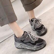 Women's Chunky Sneakers 2019 Fashion Women Platform