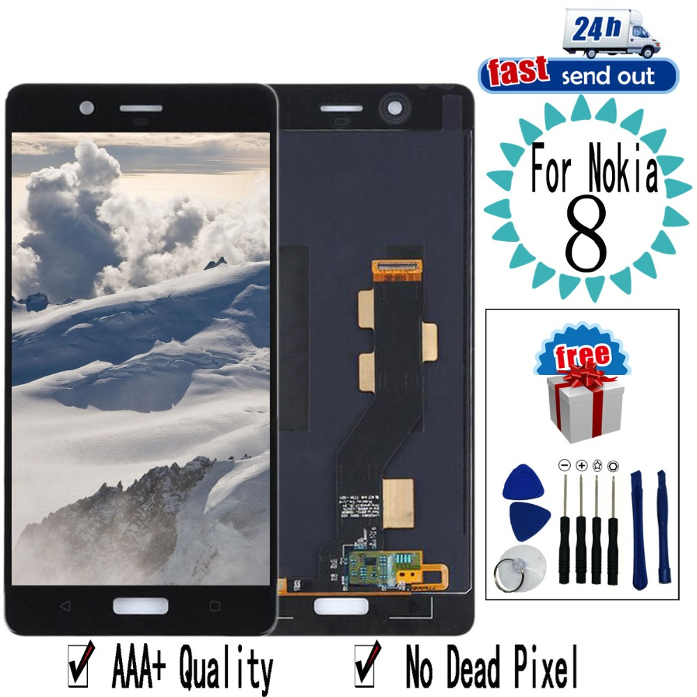 5.3 N8 LCDFor Nokia 8 N8 LCD Display TA-1012 TA-1004 TA-1052 Touch Screen Digitizer Assembly Replacement For Nokia 8 N85.3 N8 LCDFor Nokia 8 N8 LCD Display TA-1012 TA-1004 TA-1052 Touch Screen Digitizer Assembly Replacement For Nokia 8 N8