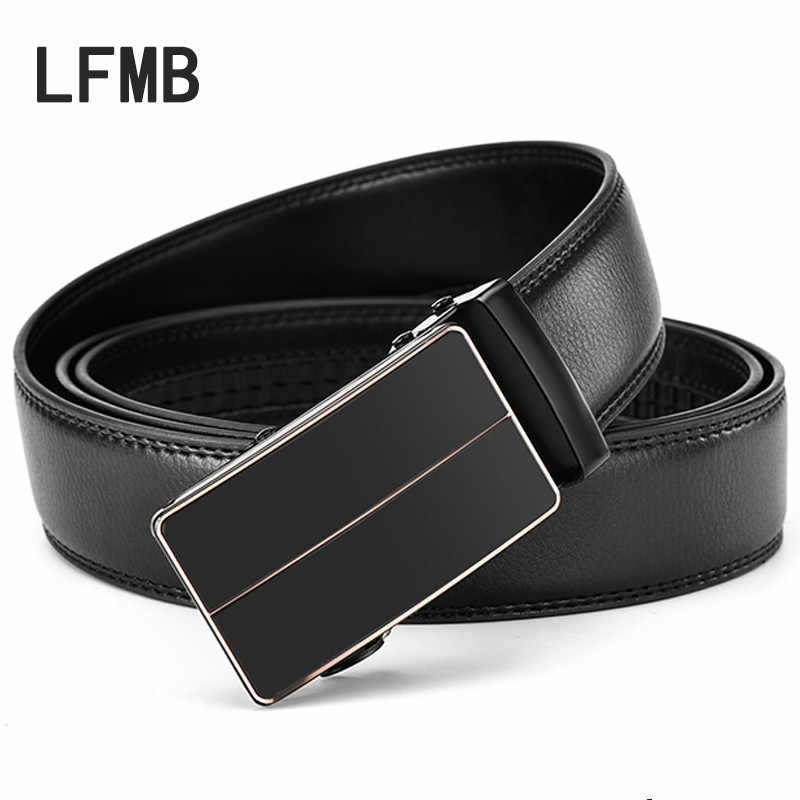 726b744a765d6ea LFMB ремень Для мужчин Одежда высшего качества из натуральной кожи  роскошные кожаные известный бренд Ремни для