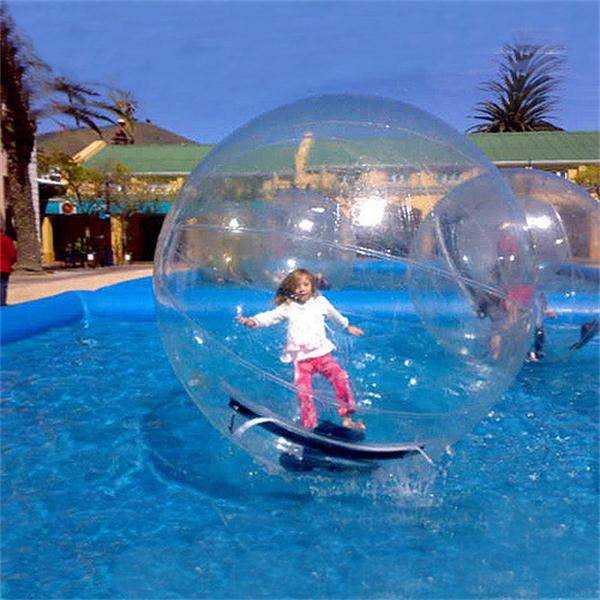 Free Shipping Water Play Equipment 1.5M Dia Water Zorb Ball For Pool Games TPU Material Water Walking Ball For Lake/Sea On Sale