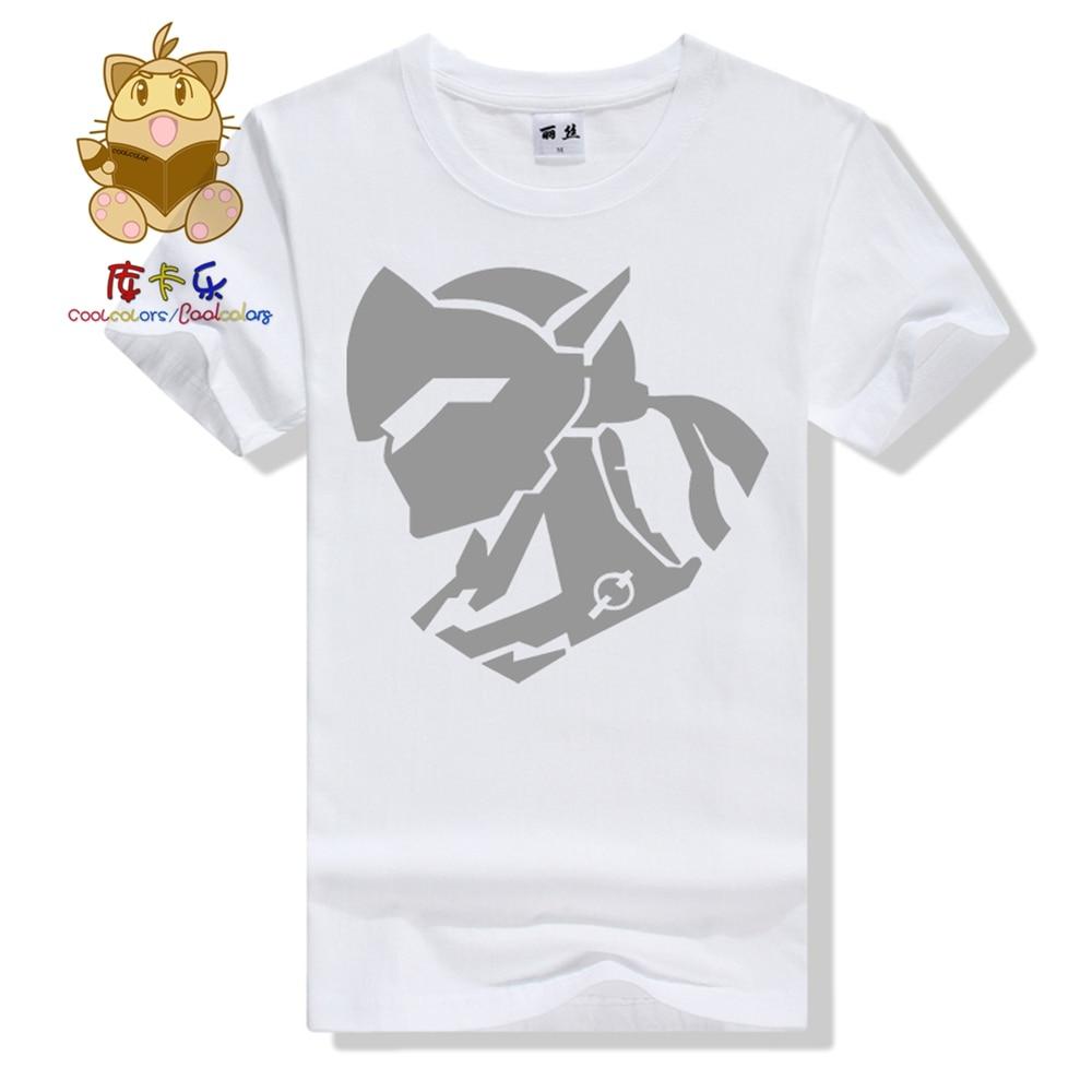 Hot high quality OW character concept tee shirt GENJI t shirts cotton t shirts various colors ac202-B